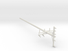 1:24 Scale Cross-Armed Electrical Pole 3d printed
