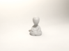 "Tiny Monk 3d printed ""And you're quite nice."""