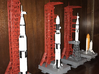 1/400 Saturn 1B MLP, Apollo launch pad 3d printed My launch pads, built by a customer who admits he has limited modelling skills. I think he's done very well.