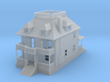 Barbers House 285 scale 3d printed Barber House 1:285 Scale
