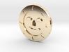 Golden Sun Coin 3d printed