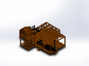 sawmill  3d printed SAWMILL WITH BOILERSAW AND LOG CARRIAGE