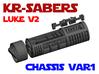 KR Luke V2 - Lightsaber Chassis Var1 3d printed