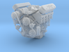 LSX/LS3 1/25 complete engine w/single 4bbl intake 3d printed