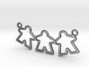 Meeple pendant - Triple 3d printed