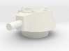 Japanese WWII SE-RI Turret 1/100 3d printed