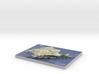 "Majorca / Mallorca Map, Spain: 8.5""x11"" 3d printed"