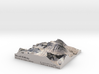 """Mount Whitney Color: 6""""x6"""" 3d printed"""