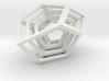 Encompassing Shard - Pendant 3d printed