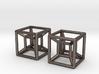 Two Hypercubes 3d printed