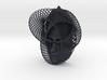 Wire Curve Art + Nefertiti (002a) 3d printed