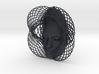 Wire Curve Art + Nefertiti (002b) 3d printed