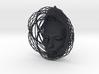 Wire Curve Art + Nefertiti (002d) 3d printed