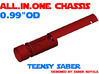 "ALL.IN.ONE - 0.99""OD - Teensy Saber 3d printed"