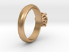 Frame diamond Ring 3d printed