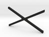 ZRD Rear Upper X Brace 3d printed