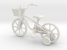 Kids bicycle with training wheels 3d printed