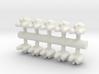 10 Rushi Iterceptors 3d printed
