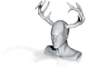 Hannibal With Antlers 3d printed