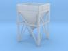N Scale aggregate hopper #1 80% 3d printed