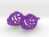 Coil - Earrings in Nylon Plastic 3d printed