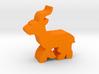 Game Piece, Gazelle running 3d printed