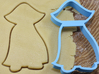 Dracula cookie cutter for professional 3d printed