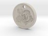 Rose Aromatherapy Pendant 3d printed