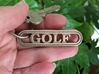 Golf Keychain - Gift for Golfer 3d printed Must have golfing accessory!