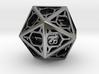 D20 Balanced - Cage die 3d printed