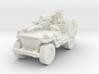 1/100 LRDG Jeep  3 3d printed