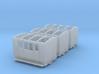 3x NWNGR 4w coach (009 scale) 3d printed