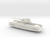 1/144 German 12,8 cm Flak railway car 3d printed