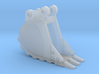 """1:50 18"""" PC138 Trench Bucket 3d printed"""
