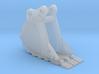 """1:50 18"""" PC138 Bucket+ Spade teeth 3d printed"""