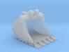"""1:50 42"""" PC138 Bucket+ Spade teeth 3d printed"""