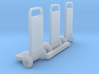 HO Scale 2 Wheelers 3d printed This is a render not a picture