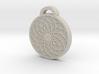 Geometric Mandala Aromatherapy Pendant 3d printed