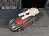 TF CW Brake-Neck Wildrider Car Cannon Seige 3d printed Mounted in Vehicle Mode with Adapter