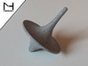 Spinning Top / Tol Inception 3d printed Polished Alumide