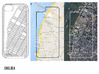 Chelsea NYC Neighborhood Map iPhone 5/5s Case 3d printed