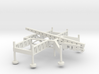 1/160 Scale Nike Missile Launch Pad 3d printed