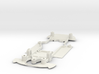1/32 Scalextric Jaguar XKR Chassis for Slot.it pod 3d printed