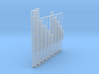 1:100 Cage Ladder Assorted 8pc 3d printed