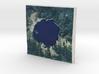 Crater Lake, Oregon, USA, 1:150000 Explorer 3d printed