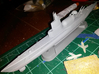 USS Tunny SSG-282 1/350 scale 3d printed