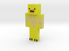 Pete   Minecraft toy 3d printed
