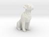 Boxer dog 3d printed
