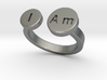 I Am Ring - Small 3d printed