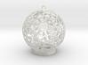 Flower Kaleidoscope Ornament 3d printed